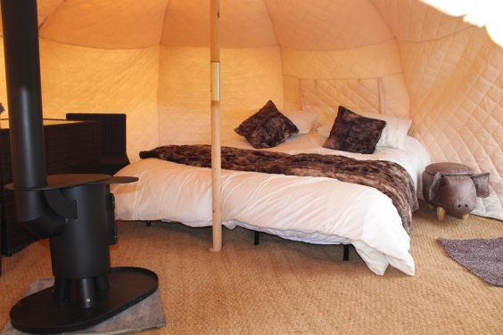Glamping Double Bed